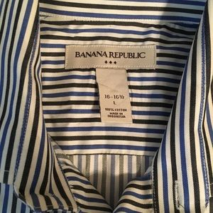 Banana Republic Shirts - Banana Republic large button up